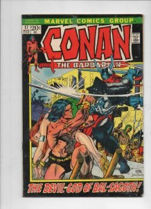 CONAN the BARBARIAN #17, FN Gil Kane, God of BS, 1970 1972, more in store