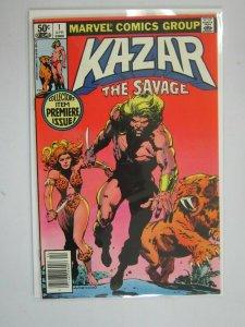 Ka-Zar the Savage #1 Newsstand edition 7.0 FN VF (1981)