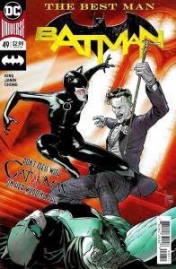Batman #49 Rebirth Main Cvr (DC, 2018) NM