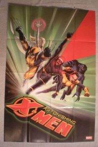 ASTONISHING X-MEN Promo Poster, 24x36, 2004, Unused, more Promos in store