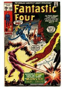 FANTASTIC FOUR #105 1970-John Romita -MARVEL VF-