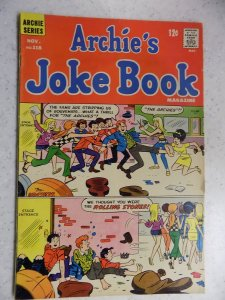 ARCHIE'S JOKE BOOK # 118 ARCHIE JUGHEAD VERONICA BETTY RIVERDALE CARTOON