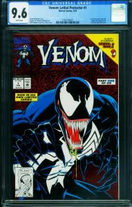 Venom: Lethal Protector #1 CGC 9.6 1st issue 1993 1991639005