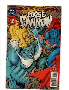 10 Comics Loose Cannon #1 2 3 4 6 Damage #6 Blood Pack #1 2 3 4 Fate #17 J394