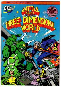 BATTLE FOR A THREE-D WORLD 1  VF-NM (KIRBY 3-D)