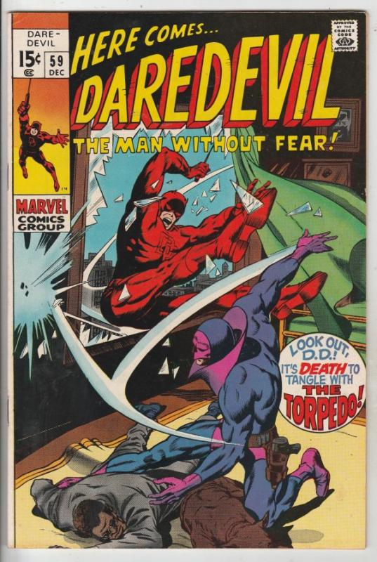Daredevil #59 (Dec-69) VF/NM High-Grade Daredevil