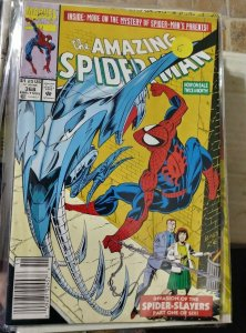 Amazing Spider-Man  #368 1992 marvel  SPIDER SLAYERS RICHARD +MARY PARKER