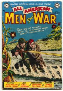 All-American Men Of War #6 1953-DEVIL DOG-GHOST SQUADRON VG