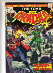 Tomb of Dracula #22 (Jul-74) FN/VF Mid-High-Grade Dracula