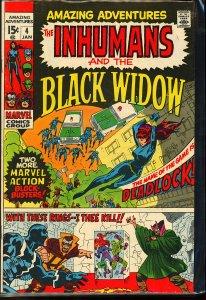 Amazing Adventures #4 (1971)
