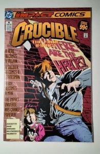 Crucible #1 (1993) Impact Comic Book J756