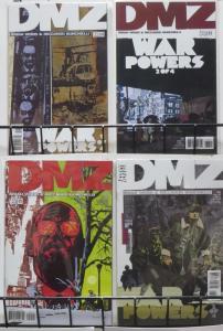DMZ #37-40 (DC/Vertigo, 2005) VF-NM 'War Powers' complete story! Wood&Burchielli