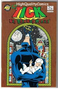 TICK YULE LOG SPECIAL #1, NM, Ben Edlund, TV series, 1997, more Tick in store