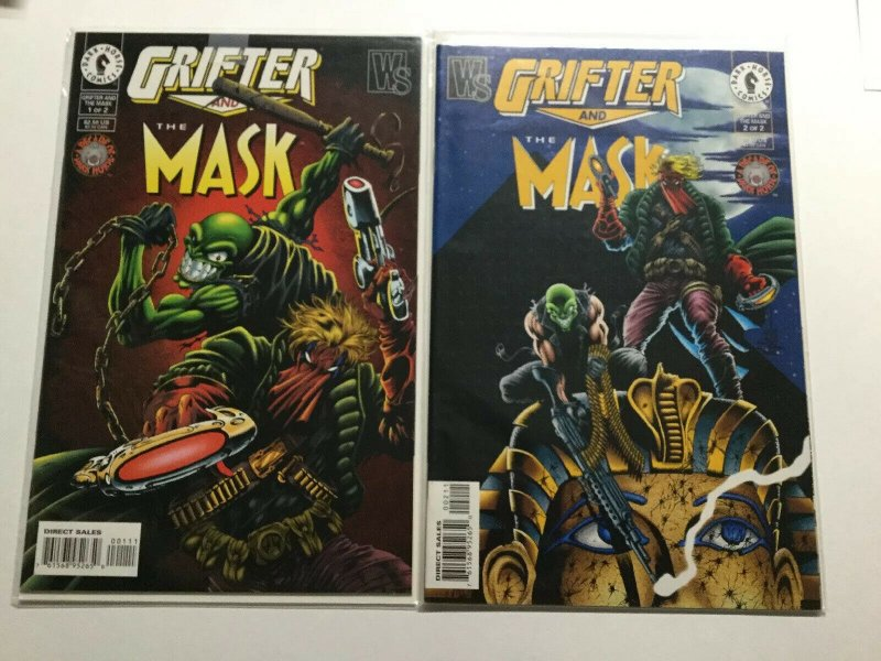 Grifter And The Mask 1 2 Near Mint Nm Dark Horse Comics