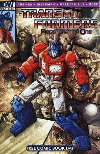 Transformers, The: Regeneration One #80.5 VF/NM; IDW   save on shipping - detail
