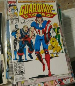 Guardians of the Galaxy # 30 1992 marvel   VANCE ASTRO QUITS GOTG