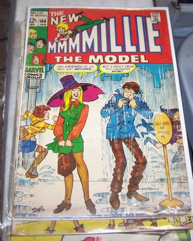 Millie the Model #166 (Jan 1969, Marvel) LOW GRADE STAN LEE