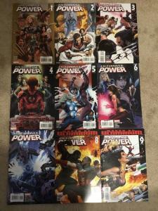 Marvel Ultimate Power 1-9 Complete Set