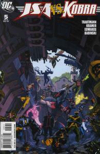 JSA vs. Kobra #5 VF; DC | save on shipping - details inside