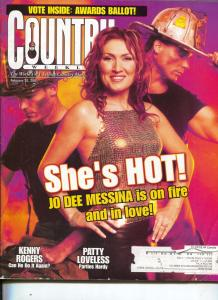 Country Weekly-Jo Dee Messina-Patty Loveless-Kenny Rogers-Feb-2001