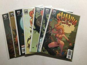 Shanna The She-Devil 1-7 1 2 3 4 5 6 7 Lot Set Near Mint Nm Marvel