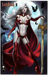 Lady Death Merciless Onslaught #1 Scarlet Edition (VF/NM)