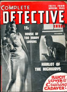 Complete Detective Cases November 1940- Jack Kirby- Harlot of the Highways