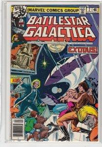 BATTLESTAR GALACTICA (1979 MARVEL) #2 VG -01837