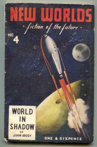 New Worlds vol 2 #4 1949- British Pulp- Arthur C Clarke