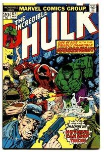 INCREDIBLE HULK #172 comic book-Juggernaut origin-Marvel 1974 VF-