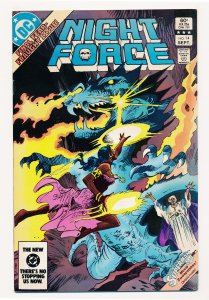 Night Force (1982 1st Series) #14 VF Last issue of the series