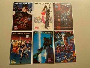 Nick Fury vs. SHIELD set #1-6 6.0 FN (1988)