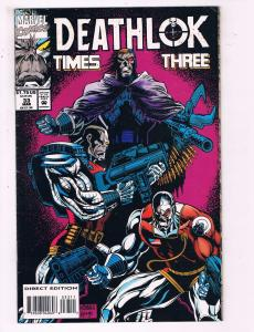 Deathlok Times Three #33 VF Marvel Comics Comic Book DE19