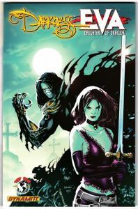 Darkness vs Eva Daughter Of Dracula TPB (Dynamite, 2009) - New!