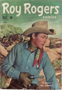 ROY ROGERS #40 TRIGGER DELL  1951  EGYPTIAN COLLECTION VG