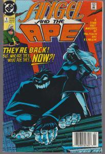 ANGEL & THE APE #1 , DC COMICS, BAGGED,& BOARDED