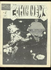 NEW COMIC NEWS FANZINE #5-1968-WEIRDOS IN FANDOM-RARE FN