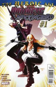 Hawkeye And Mockingbird #1 VF/NM; Marvel | save on shipping - details inside
