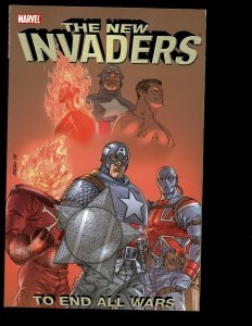 The New Invaders: To End All Wars Marvel Comic Book TPB Graphic Novel J401