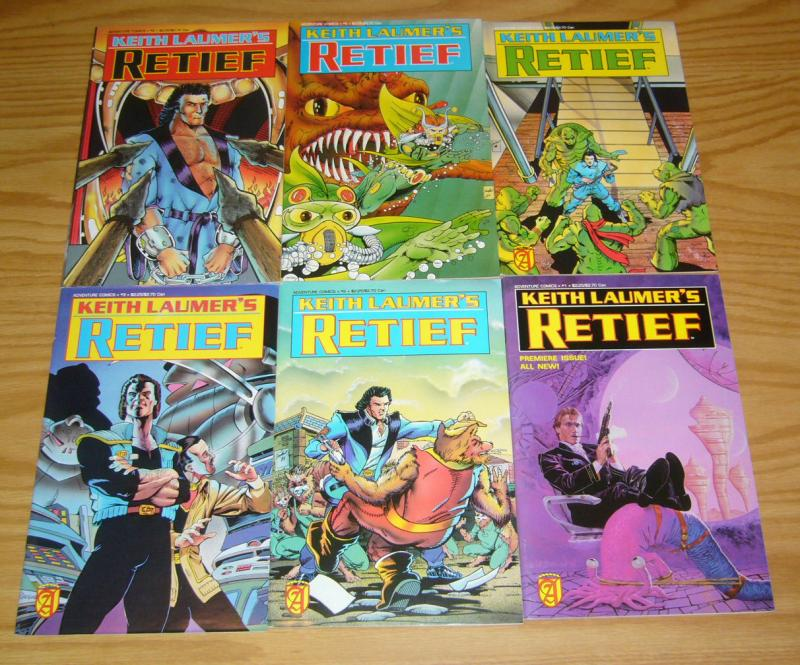 Keith Laumer's Retief #1-6 VF/NM complete series - adventure comics set 2 3 4 5