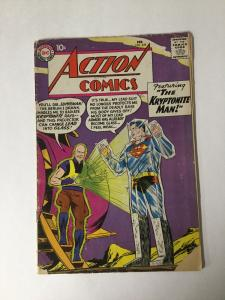 Action Comics 249 Gd Good 2.0 DC Comics Silver Age