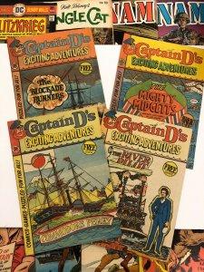 Captain D's Exciting Adventures VG/F 3, 5, 7, 10 5.0 vintage promo comics 1977