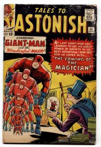 TALES TO ASTONISH #56 comic book 1964-MARVEL-GIANT-MAN VS THE MAGICIAN
