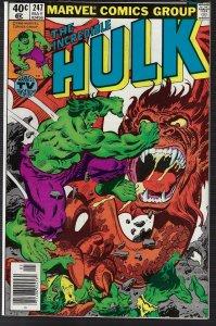 Incredible Hulk #247 (Marvel, 1979) NM