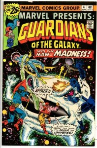MARVEL PRESENTS #4, FN, Guardians of the Galaxy, 1975 1976, more Bronze in store