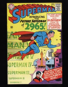Superman #181 FN+ 6.5 Future Superman from 2965!
