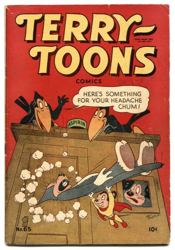 Terry-Toons #65 1948-Golden Age- Mighty Mouse VG/F