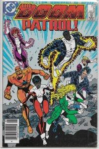 Doom Patrol (vol. 2, 1987) ## 8 VG Kupperberg/Larsen, Shrapnel