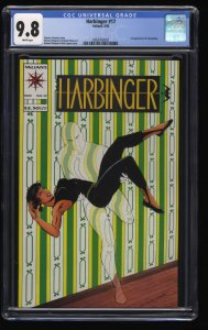 Harbinger #17 CGC NM/M 9.8 White Pages