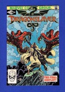 DRAGONSLAYER #2, VF, Marvel Adaptation,1981